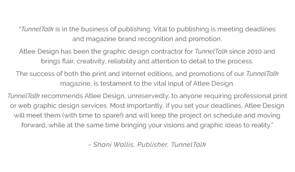 Atlee Design Graphic Design and Artworking Testimonial 1